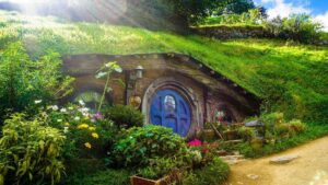 Middle Earth, also known as Hobbiton