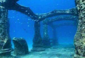 The sunken city of Port Royal