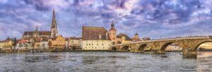 Regensburg Stone Bridge (Image by FelixMittermeier from Pixabay)